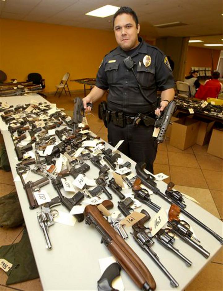 Fifth Annual San Diego Gun Buyback Nets a Record 364 ...