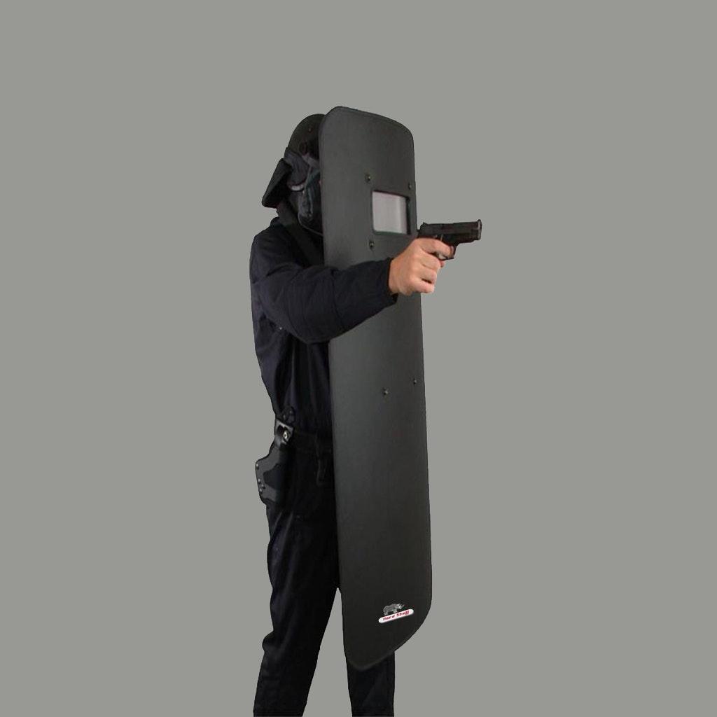 Enhanced Tactical Training Police Transparent PC Anti-riot Riot Shield
