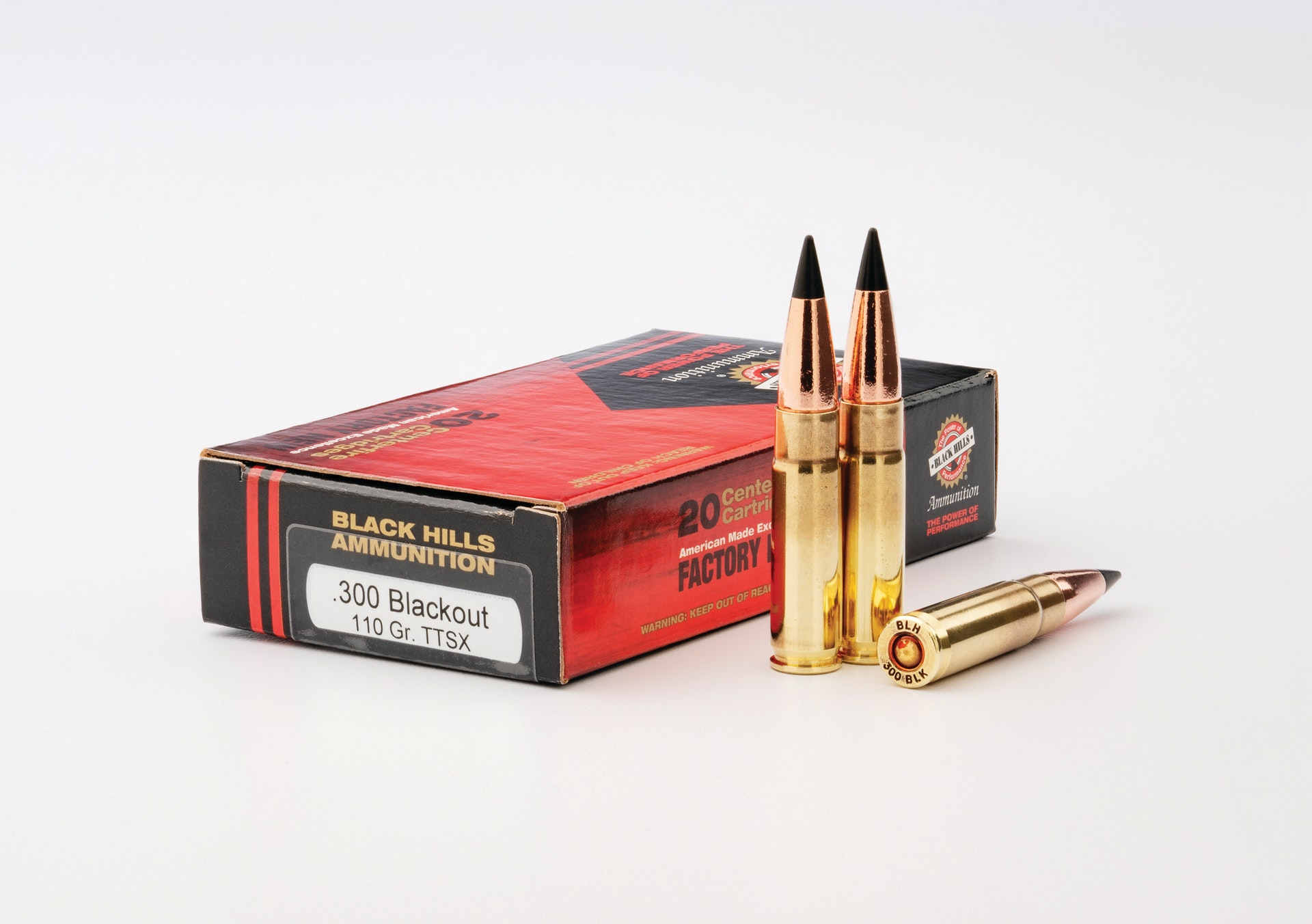 300 Blackout 110 Grain Ttsx From  Black Hills Ammunition