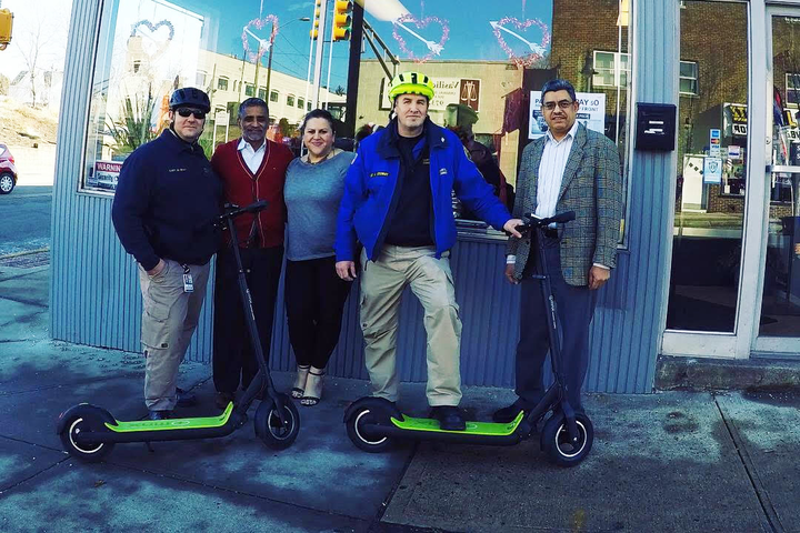 Nj Pd Adds Electric Scooters As Part Of Community Relations Program Officer