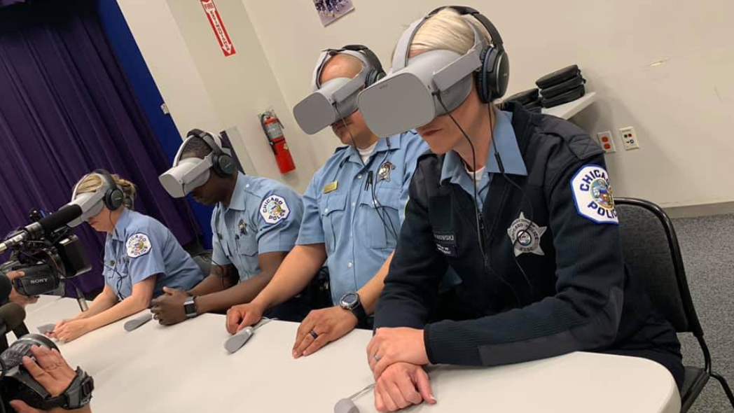 Chicago Police Department And Axon Partner For First VR