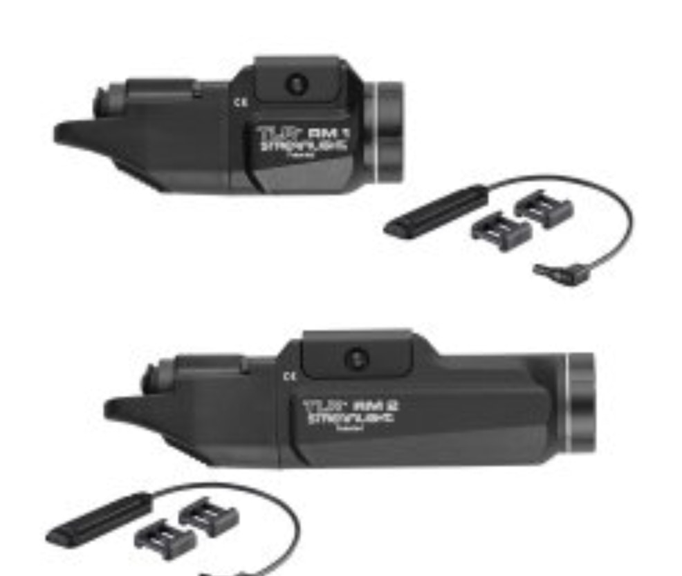 Black Streamlight 69451 TLR RM 2 Compact Rail-Mounted Tactical Lighting System with Rail Locating Keys and Two Lithium Batteries