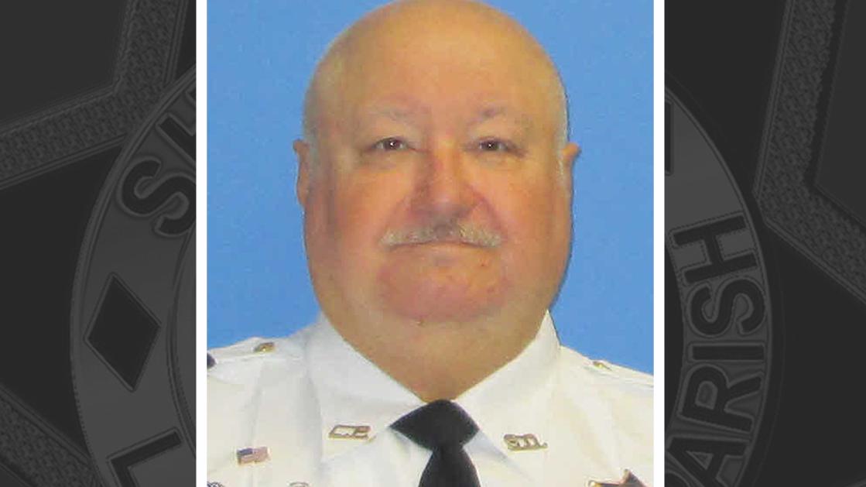 School Traffic Guard Larry Boudreaux